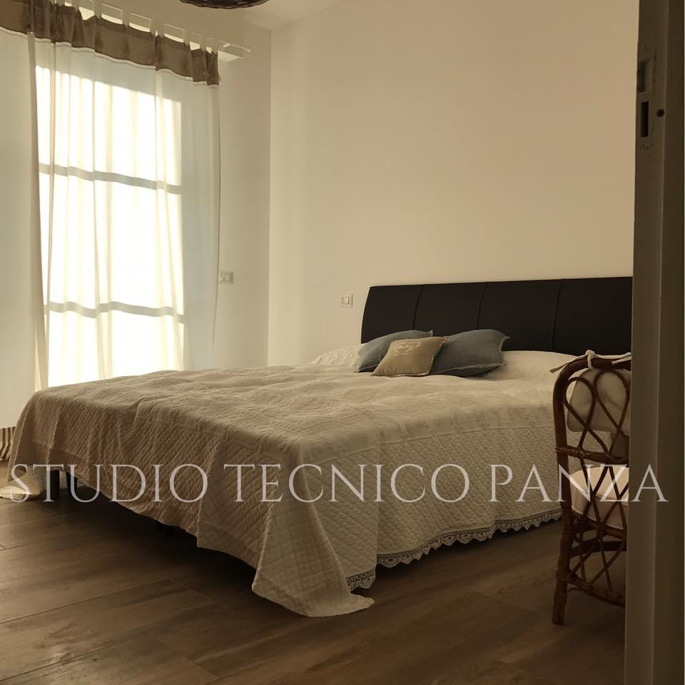 immobile in affitto bilocale lisanza sesto calende varese-camera da letto